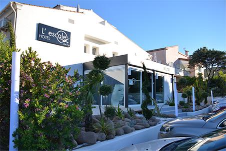 L'Escale, hôtel 3 étoiles à Ile Rousse en Corse